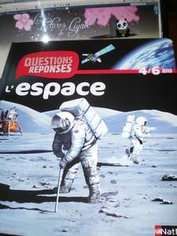 L'espace - Nathan - Les lectures de Liyah