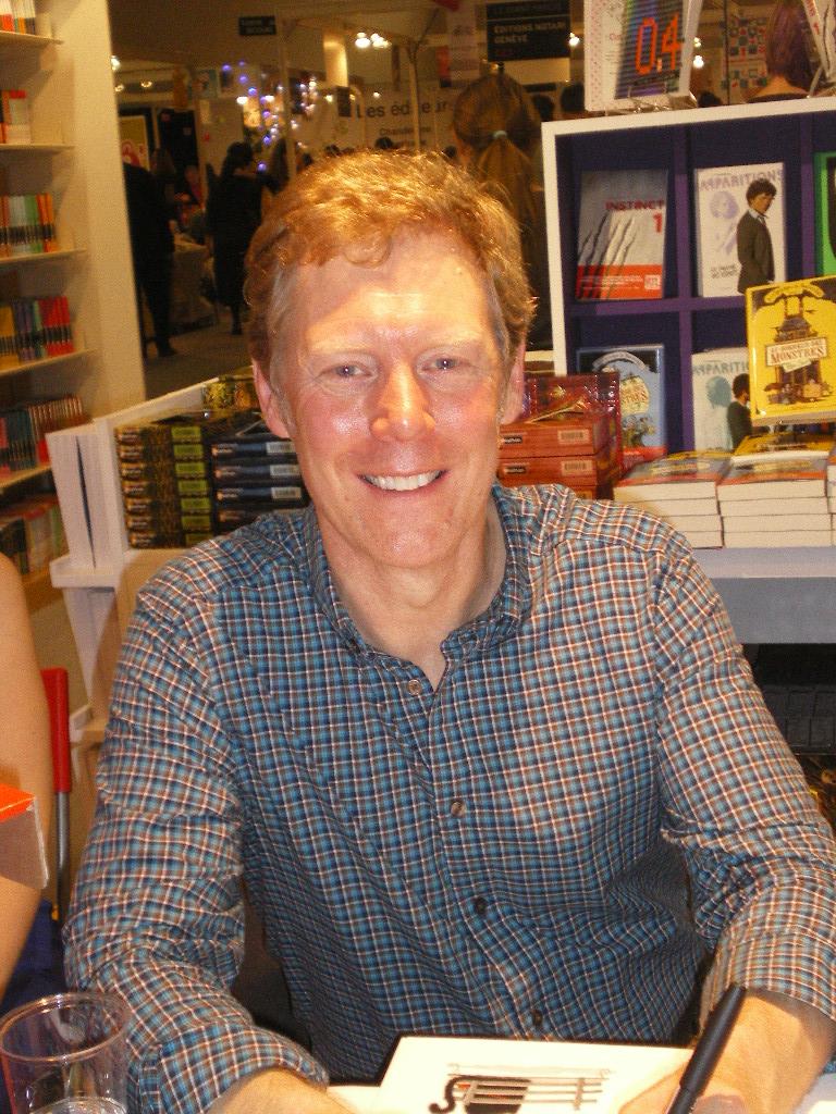Rob Scotton - Montreuil 2011 - Les lectures de Liyah
