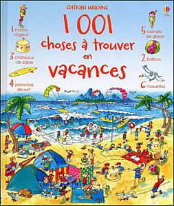 1001 choses à trouver en vacances - Usborne - Les lectures de Liyah