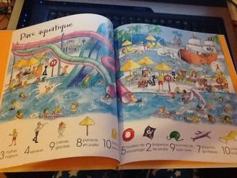1001 choses à trouver en vacances int - Usborne - Les lectures de Liyah