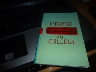 L'enfer au collège - A.Tenor - Les lectures de Liyah