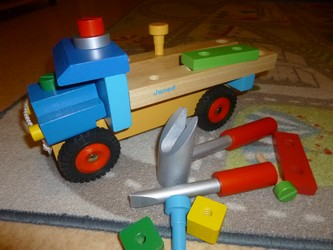 Camion bricolo 1 - Greenweez - Les lectures de Liyah