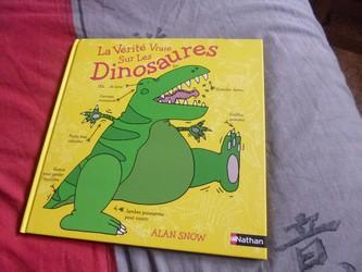 La vérité vraie sur les dinosaures - Nathan - Les lectures de Liyah