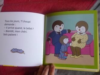 T'choupi Maman attend un bébé 1 - Nathan - Les lectures de Liyah
