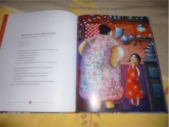 La robe rouge de nonna 1 - Albin Michel - Les lectures de Liyah