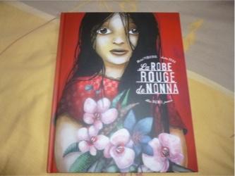 Histoire pour enfant La robe rouge de nonna - Albin Michel - Les lectures de Liyah