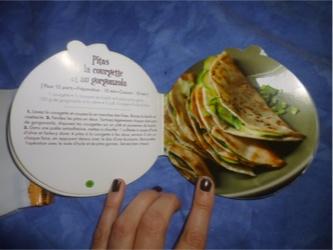 Livres cuisines courgette 3 - Larousse - Les lectures de Liyah