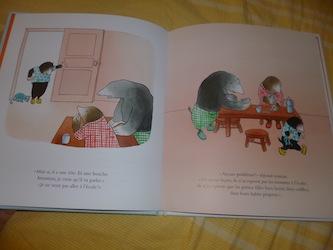 Le petit monstre du matin 1 - Ecole des loisirs - Les lectures de Liyah