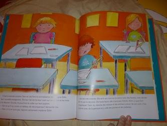 Sam apprend à aimer l'école 1 - Dominique et Cie - Les lectures de Liyah