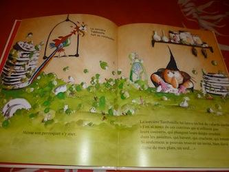 La sorciere Tambouille 1 - Kaleidoscope - Les lectures de Liyah