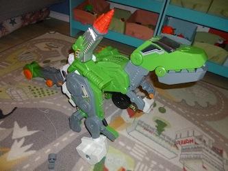 Jeu pour enfant Switch & Go Dinos - Tyranex le Giga T-Rex 1 - Liyah.fr