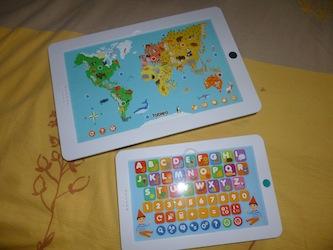 Jeux pour enfants Tableo Nathan - Les lectures de Liyah