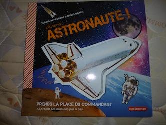 Deviens astronaute - Casterman - Les lectures de Liyah