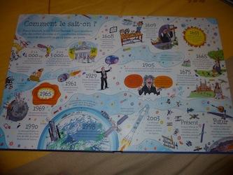Fenetre sur l'espace 1 - Usborne - Les lectures de Liyah