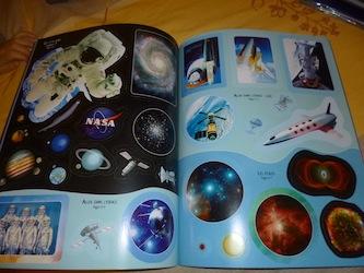 L'astronomie et l'espace 2 - Usborne - Les lectures de Liyah