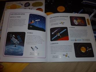 Ma première exploration de l'espace 3 - Tourbillon - Les lectures de Liyah