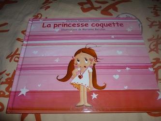 La princesse coquette - Kaleidoscope - Les lectures de Liyah