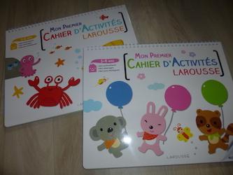 Premiers livres d'activités - Larousse - Les lectures de Liyah