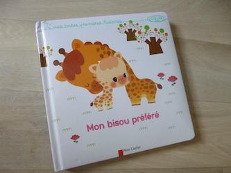 album cartonné Mon bisou préféré flammarion