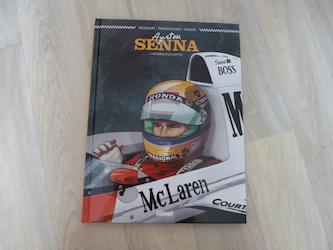 Bande dessinée adulte Ayrton Senna