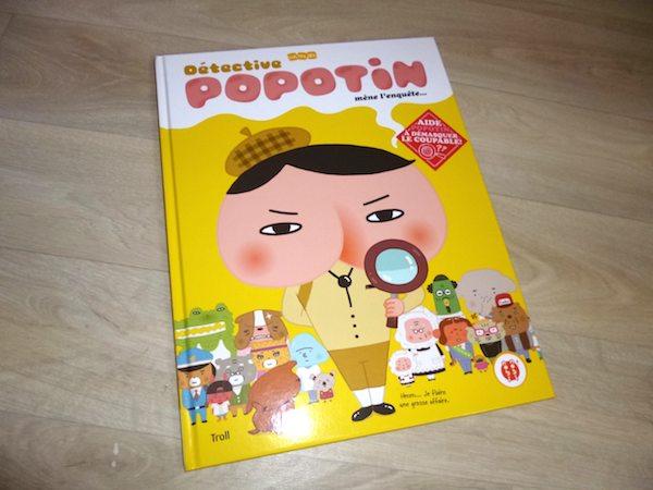 Livre enfants Detective popotin