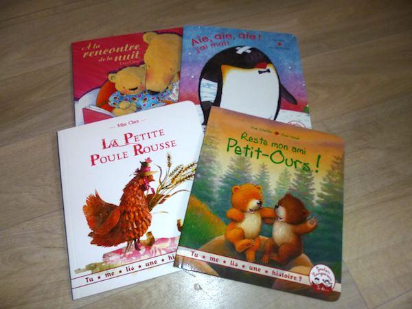 Histoire pour enfants Tu me lis une histoire