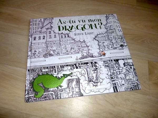 Livre pour enfants As tu vu mon dragon
