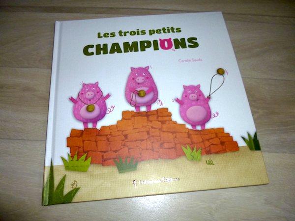 Histoire pour enfants Les trois petits champions