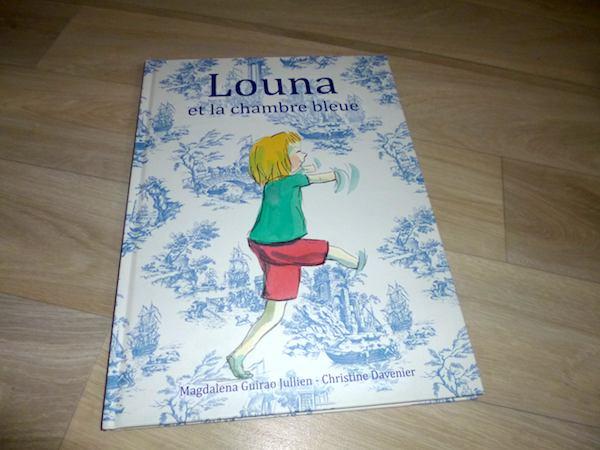 Histoire pour enfants Louna et la chambre bleue