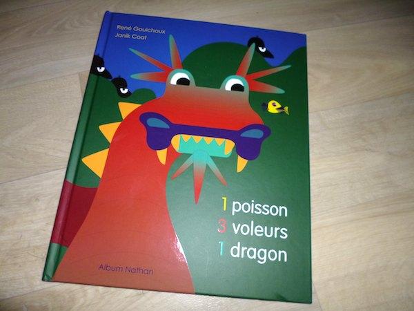 Livre pour enfants Poisson voleurs dragon