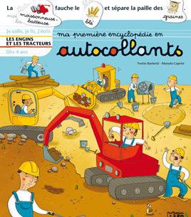 Ma première encyclopédie en autocollants Engins et tracteurs - Lito - Les lectures de Liyah