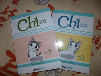 Chi T.2 et 3 - Génat - Les lectures de Liyah