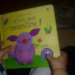 C'est mon monstre - Usborne - Les lectures de Liyah