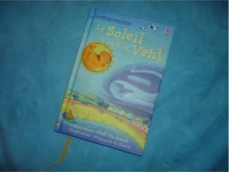 Le soleil et le vent - Usborne - Les lectures de Liyah