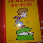 J'ai mis dans ma valise - Ecole des loisirs - Les lectures de Liyah