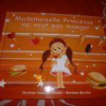 Melle princesse ne veut pas manger - Kaleidoscope - Les lectures de Liyah