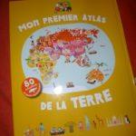 Mon premier atlas de la Terre - Tourbillon - Les lectures de Liyah