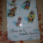 L'hiver de la famille souris - EDL - Les lectures de Liyah