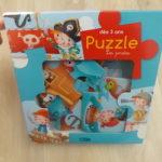 Jeu enfants puzzle lito pirates